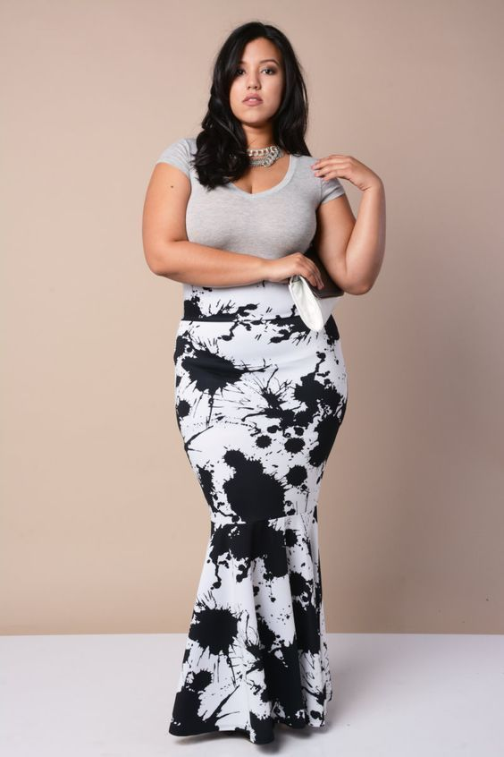 nice Flattering Plus Size Maxi Dresses – Issues To Be Considered by http://www.polyvorebydana.us/curvy-girl-fashion/flattering-plus-size-maxi-dresses-issues-to-be-considered/