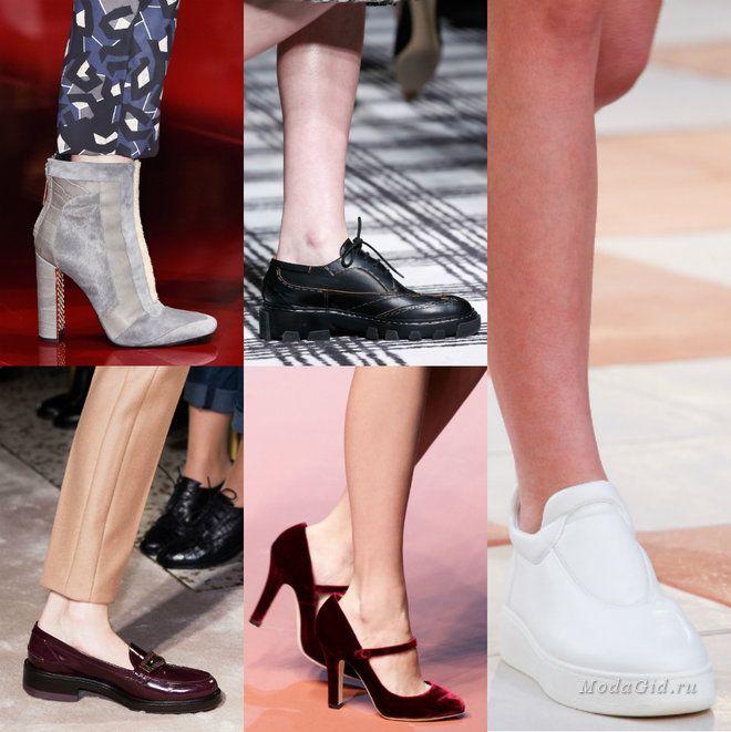 Мода и стиль: Модная обувь осень-зима 2015-2016: часть 2