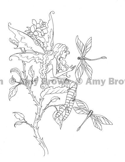 amy brown coloring pages free - photo#20