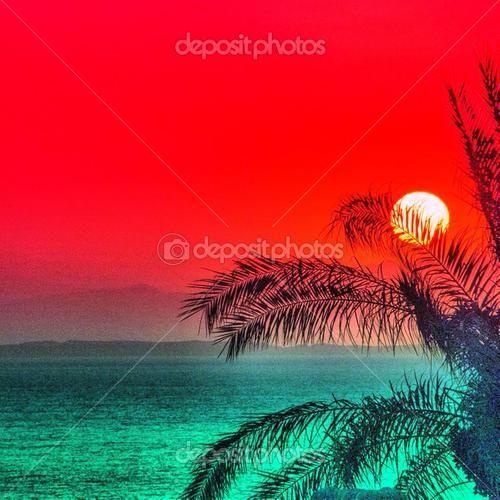 Tiran Island, Gorgeous Sunrise