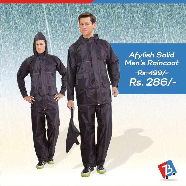 Are you ready to welcome the rain with all pleasure? Buy a raincoat and avail discounts. Limited period offer! #Raincoat #BuyNow #BuyOnline