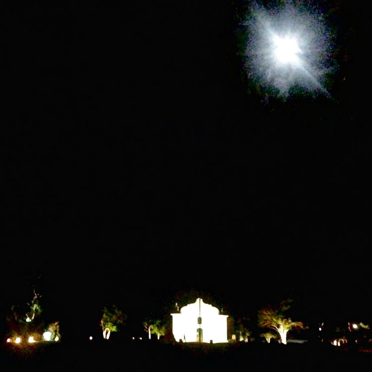 noite de lua cheia no quadrado