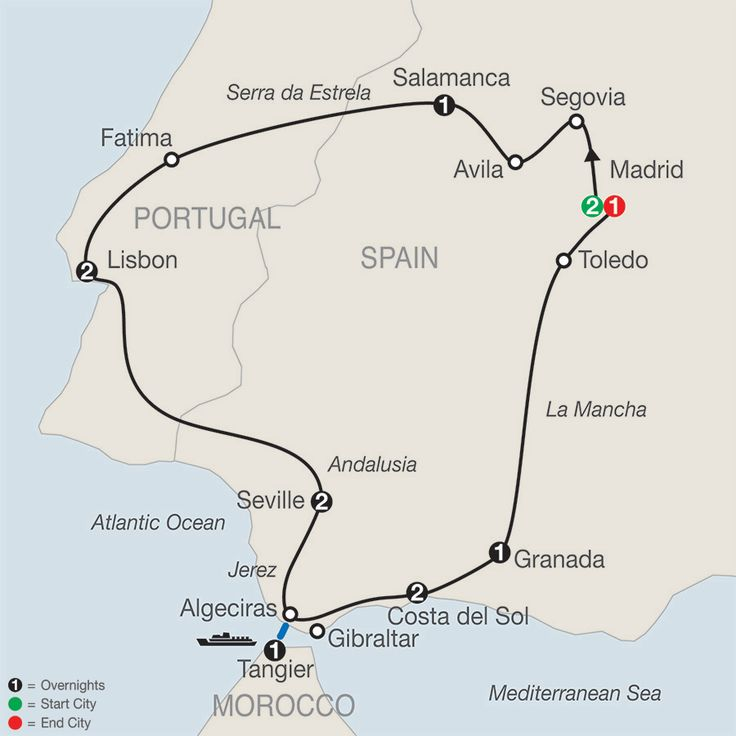 Spain, Portugal & Morocco Tours - Globus® Tour Packages
