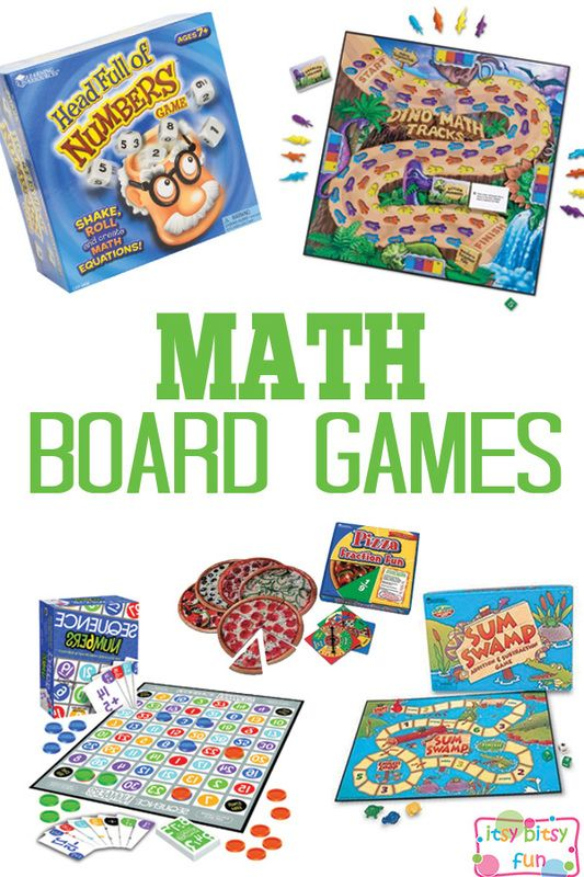 Math Board Games for Kids                                                                                                                                                     More