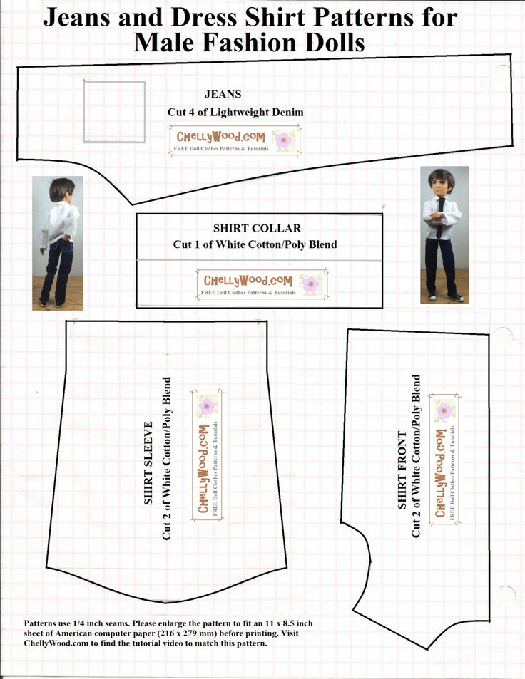It is an image of Epic Ken Doll Clothes Patterns