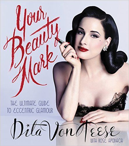 "I've been waiting for this book since 2013! Back when I blogged about it in a post titled ""Dita Von Teese's Personal Beauty, Makeup and Hair"" I didn't think it would take so dang long to be released! It's finally here and this book would make a fantastic gift for the burlesque or vintage enthusiast in your life."