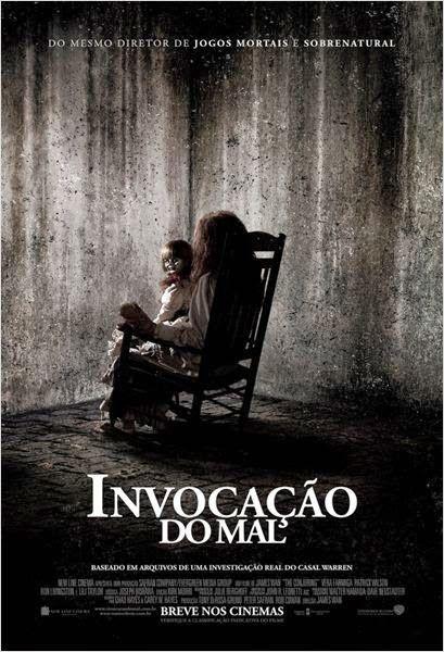 BOAS NOVAS: Invocação do Mal - Filme 2013