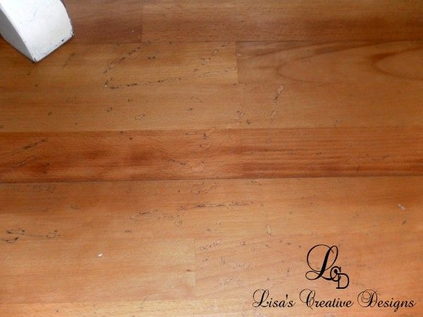 Painting Laminate Floors 8 600x449 How To Paint An Old Laminate Floor, Yes It Can Be Done!
