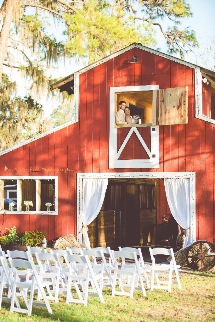 Red Barn Wedding at Crescent Lake Old McMicky's Farm