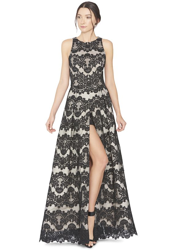 RICHIE ROMPER GOWN by Alice + Olivia - cute for the dinner