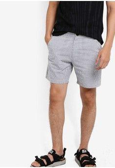 Pria > Pakaian > Bawahan > Celana Pendek > Seersucker Shorts > JAXON