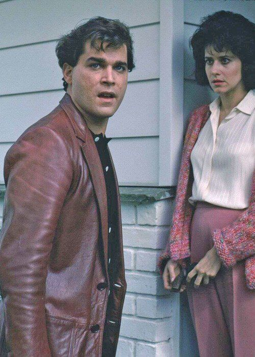 "Ray Liotta and Lorraine Bracco, ""Good Fellas"", M. Scorsese"
