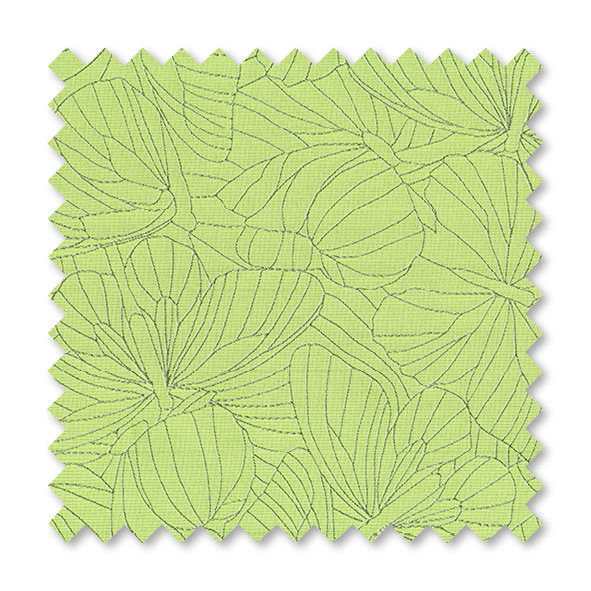 Papillon Meadow Green - from our Senses range of roller blinds.