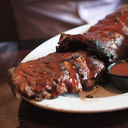 Ribs. Glazed in hard cider. Well played. https://www.facebook.com/LonghornSteakhouseCouponss