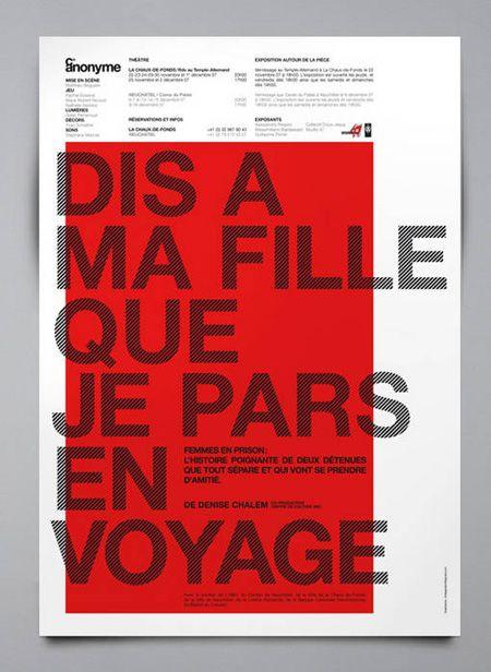 #poster referência de uso de tipografia. by Chris Gautschi