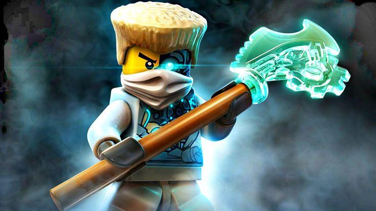 Лего Ниндзя го мультики.Ледяные Степи и Пещеры.Игры для мальчиков.#LegoN...