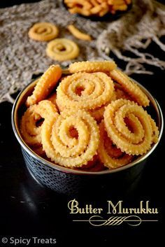 Spicy Treats: Butter Murukku Recipe | Easy Diwali Murukku Recipe | Mini Butter Murukku