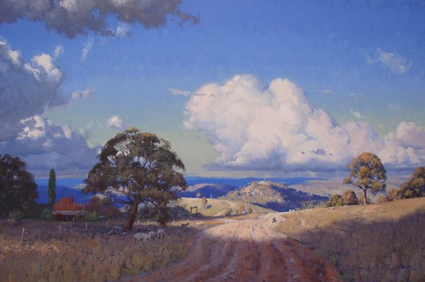 High Country Run, Taralga 100x150cm