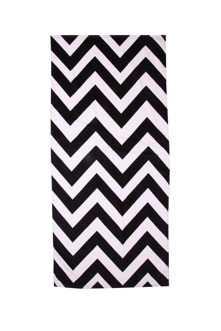 Cotton On: LIFES A BEACH TOWEL (Chevron)