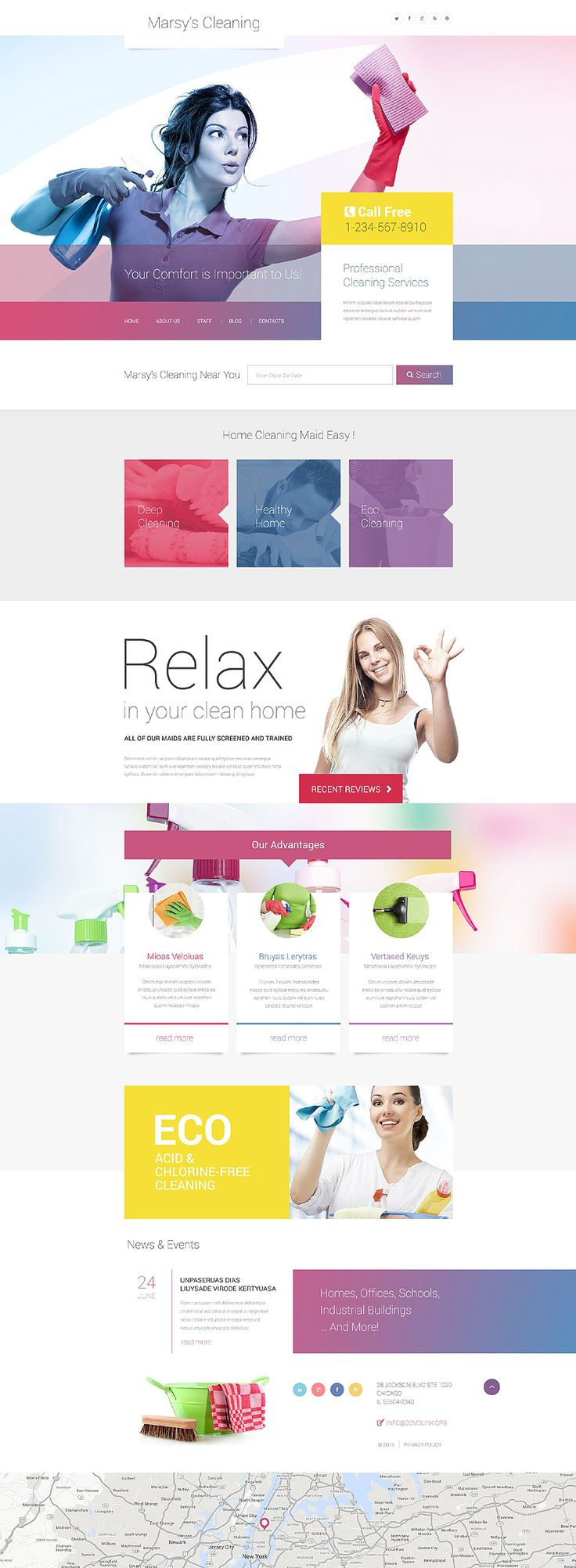 Check out a recently released #cleaning #WordPress #theme which will be a great…