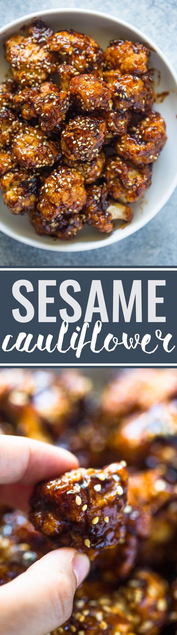 Crispy Sesame Cauliflower Bites                                                                                                                                                                                 More