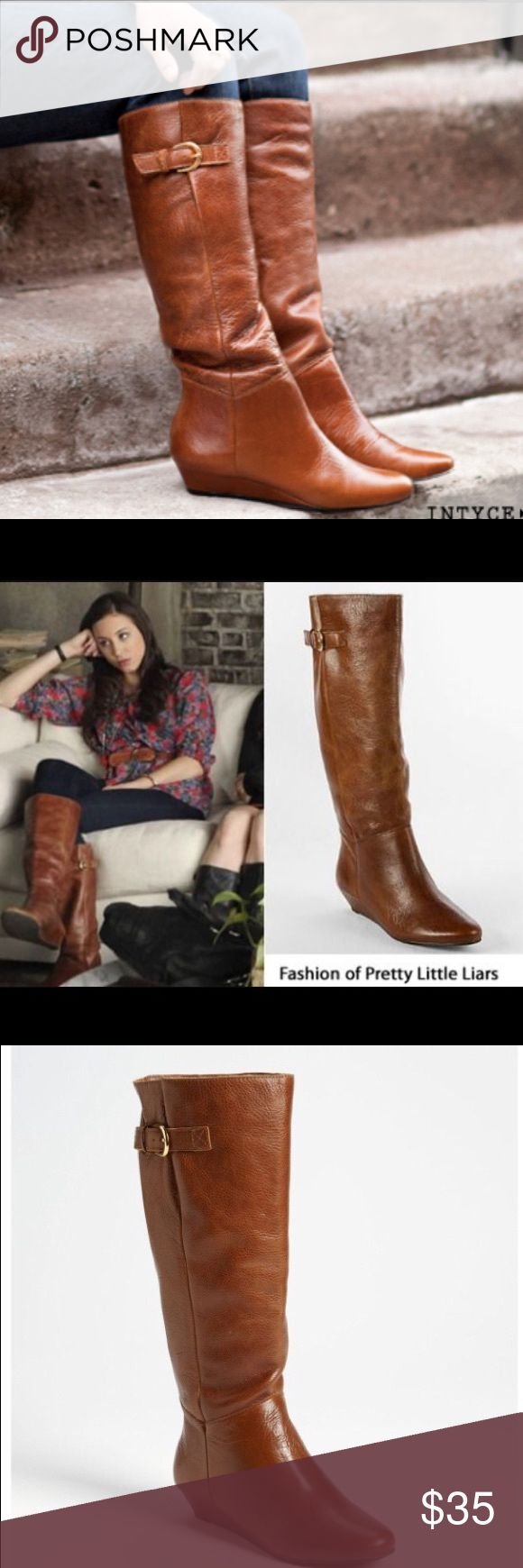EUC! Steve Madden Intyce Boots Amazing leather quality and color. Some wear but nothing a little polish can't fix. Perfect for the winter season. Born to be worn with skinnies. True size 8. Steve Madden Shoes Ankle Boots & Booties