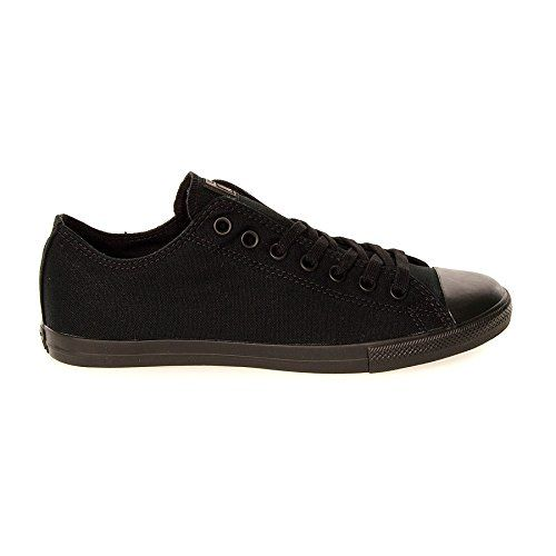 #Stylish #Styles Look no further for a plain and simple pair of trainers with iconic style than these #Converse Lean Shoes in mono black. These classic low cut c...