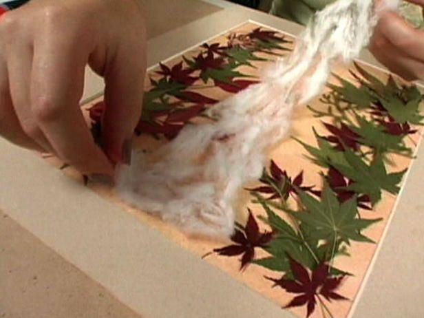 Pressed Dried Flower Crafts | How to Create Pressed Flower Art : Archive : Home & Garden Television