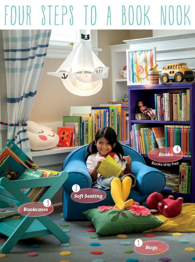 238 best images about library spaces for kids on pinterest for Land of nod playroom ideas