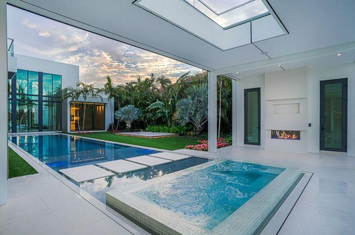 Indoor Courtyard Pool Design Indoor Swimming Pool Design Indoor Jacuzzi Courtyard Design