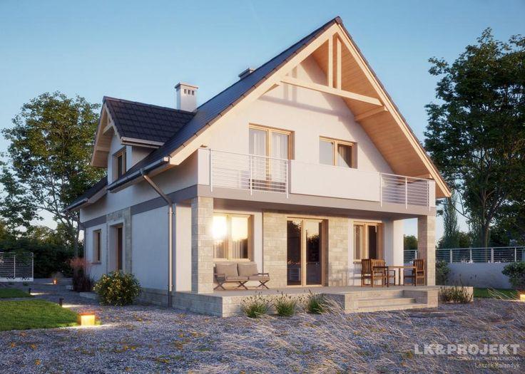 LK&786 - niedyży dom jednorodzienny w tradycyjnym stylu -  http://lk-projekt.pl/lkand786-produkt-876.html