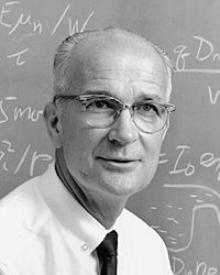 William Shockley was the inventor of the transistor. Pretty much every single thing we turn on today, other than the electric light, has its foundation in his work. Once at MIT he introduced a radio he made at a lecture, turned it on and music came out at once...the students were stunned...until then, radios had to warm up for some time before they worked. They knew the world had changed. Unfortunately, Shockley was a nutjob, a paranoid and a racist who drove away all who worked with him.