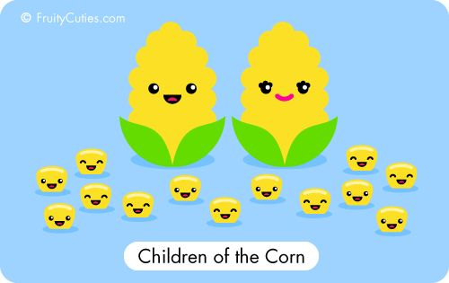 Children of the Corn #cute #foodhumor