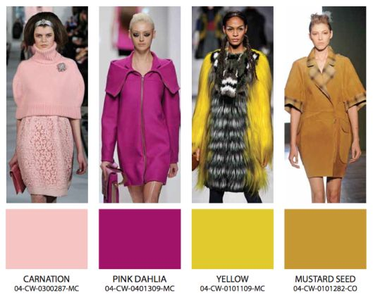 In Color! Fall Winter 2013-14 Fashion Trends « Blue Bergitt