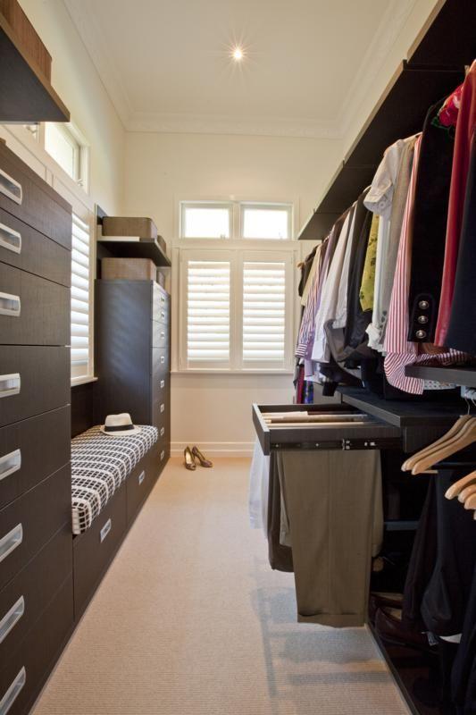 designer walk in wardrobe close
