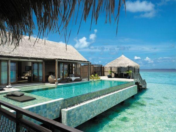 Exklusives Wellness Und Spa Resort Shangri La Auf Den Malediven