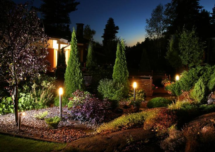 Yard illumination has the solution to all your lighting patioproblems backyard lightingoutdoor