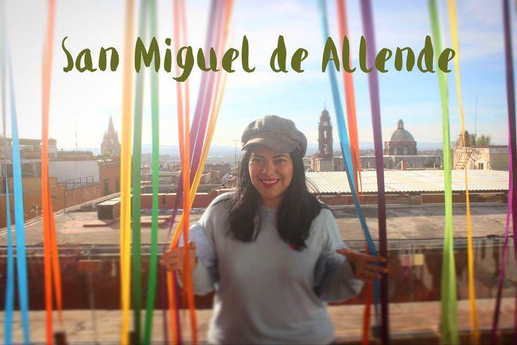 Terraza en San Miguel de Allende, Guanajuato.  México.