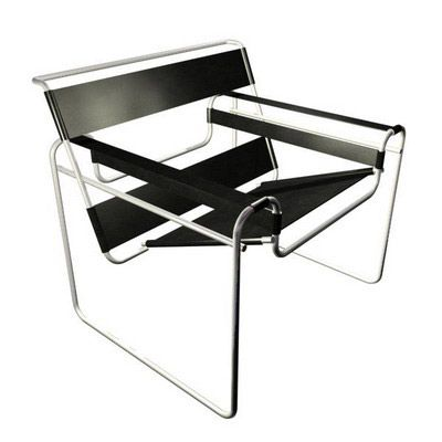 Chaise Wassily. Marcel Breuer 1925  ...canvas, not leather