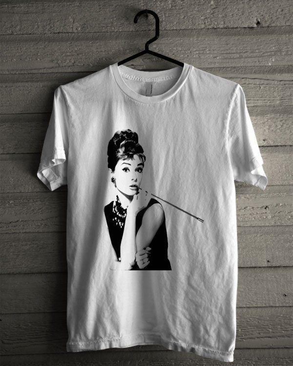Audrey Hepburn, Breakfast At Tiffany'S Shirt | T-shirt Tees Tshirt Tanktop