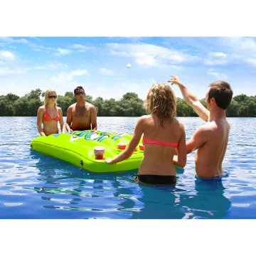 Airhead Pongo Bongo Beer Pong Table with 2 Balls - Pool Toys at Hayneedle.com