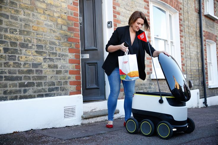 Just Eat starts delivering takeaways by autonomous robot - https://www.aivanet.com/2016/12/just-eat-starts-delivering-takeaways-by-autonomous-robot/
