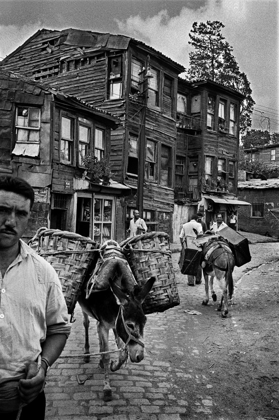 photo by Ara Guler... Street in Uskudar...1969