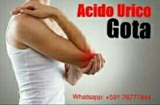 CRISTALES DE ACIDO URICO #TratamientoNatural  en el líquido de las articulaciones.   Más de un ataque de artritis aguda.   Artritis que se presenta en un día y produce hinchazón, enrojecimiento y calor en la articulación.   Ataque de artritis en una sola articulación, usualmente en el dedo gordo del pie, el tobillo, la rodilla o codo.  +591 76777544  https://www.facebook.com/GotaAcidoUrico/