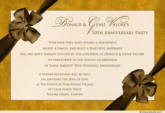 Golden Wedding Anniversary Invitations Wording: 60 Best Vintage Modern 50th Anniversaries Images On