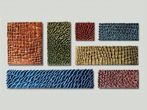 Create your own set  Custom set of textured panels by JeemadoDecor