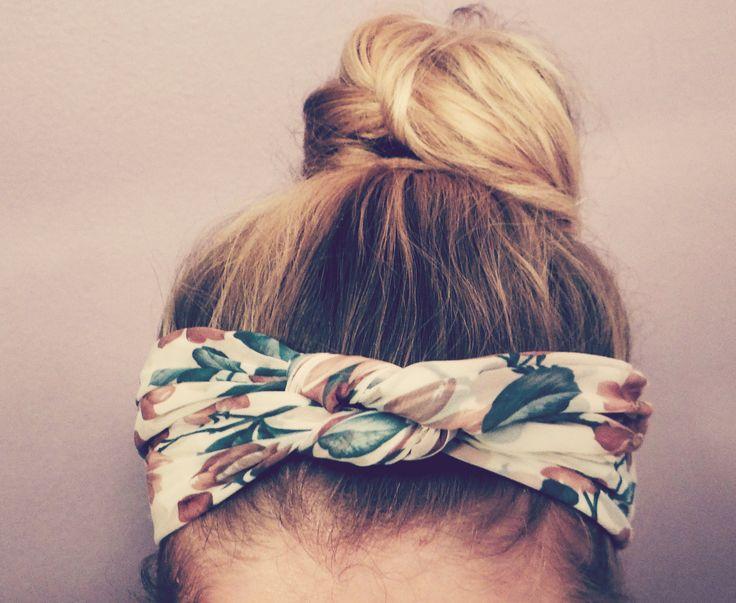 homemade headband Hair Pinterest Vintage inspired