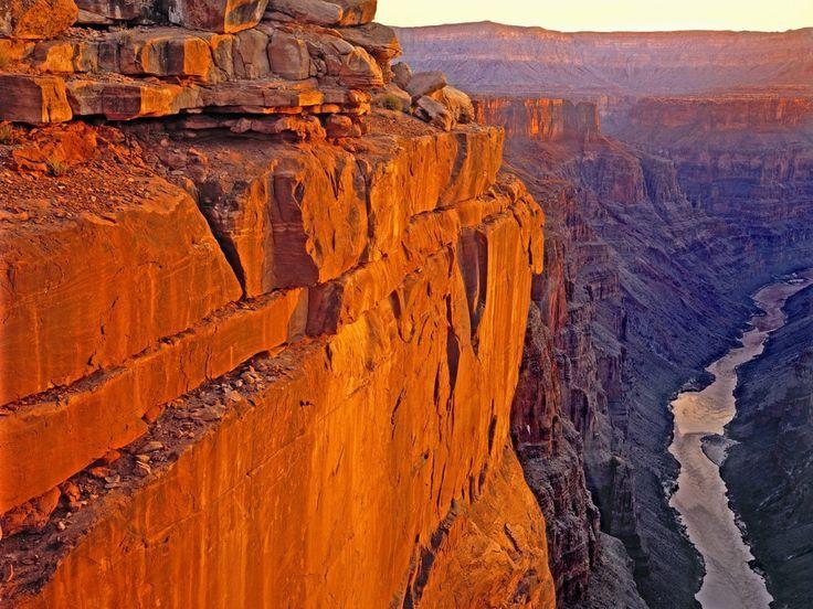 Büyük kanyon manzarası