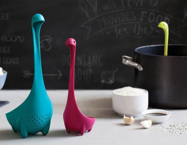 Awwww: The Loch Ness Monster Kitchen Strainer | Geekologie
