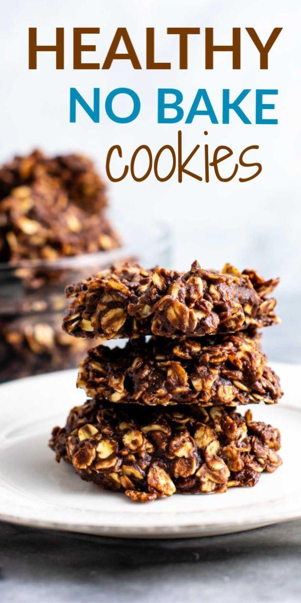 The Best Easy And Healthy No Bake Cookie Recipe Vegan Gluten